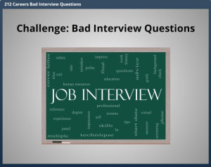 Challenge Bad Interview Questions