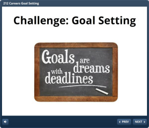 Challenge Goal Setting Title